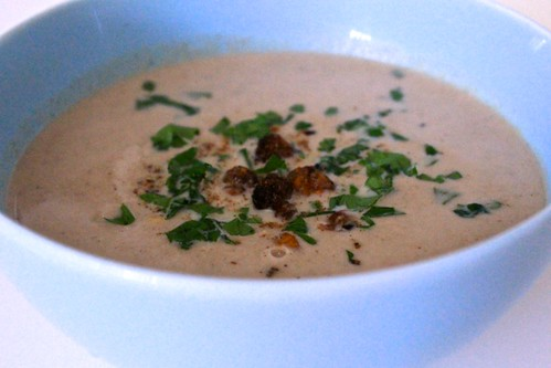 Curried Cauliflower and Ginger Soup