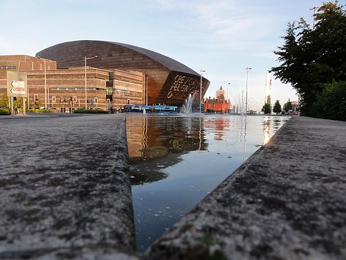 The Millennium Centre at Cardiff Bay