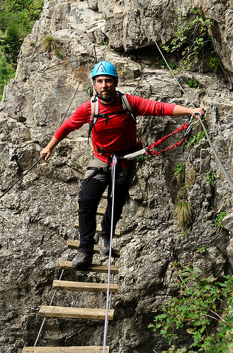 Via Ferrata Saint Christophe