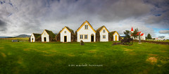 History Houses (Dylan Toh) Tags: panorama house church museum landscape photography iceland lutheran turf everlook