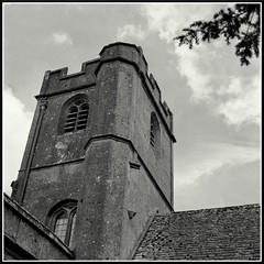 Some lesser known churches in the Cotswolds (7) (mikeinlagardette) Tags: england history 120 6x6 mamiya tlr monochrome blackwhite salt churches cotswolds gloucestershire 400 georgian jpg c2 iodized yellowfilter foma caffenol sevenhampton epsonv500 gupr summer2011 80mmsekors