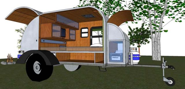 The CrowsWing - Offroad Teardrop Trailer | Expedition Portal