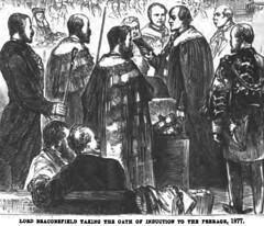 The American Magazine 1881 and Benjamin Disraeli - illustration  - 7