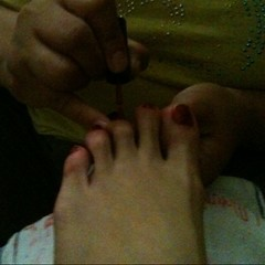 Home service pedi for only P50