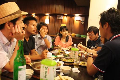 [台湾2.5] 他力飲み会は盛り上がる