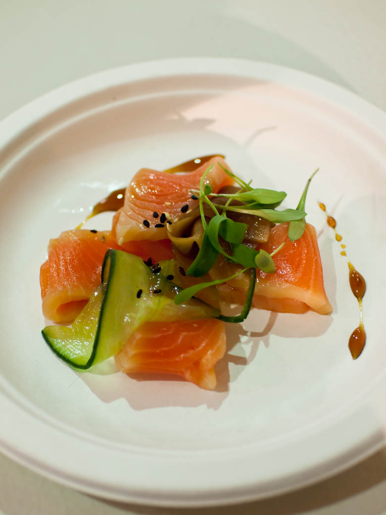 Taste of Melbourne 2011 - The Millswyn cured salmon