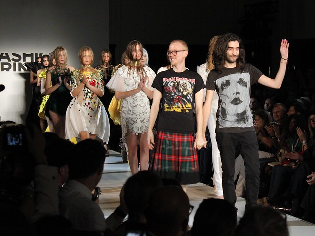 Fashion Fringe catwalk show