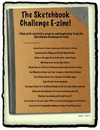 The Sketchbook Challenge E-zine