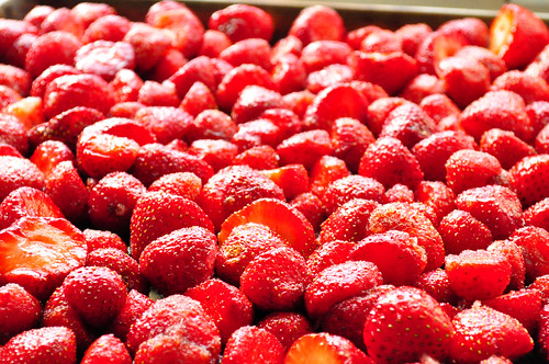Roasting Strawberries