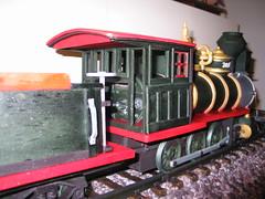 Locomotive Cake (Detail of Cab) (RDPJCakes) Tags: 3d fondant traincake sculptedcake ossas rdpjcakes locomotivecake