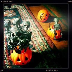 """Halloween"" iPhone + Hipstamatic Stop Motion Video - Behind the Scenes 01"