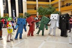 111002-1692 Anime Weekend Atlanta (WashuOtaku) Tags: atlanta anime georgia cosplay 17 awa yotsuba animeweekendatlanta danbo 2011  nikond90 renaissancewaverlyhotel danboard