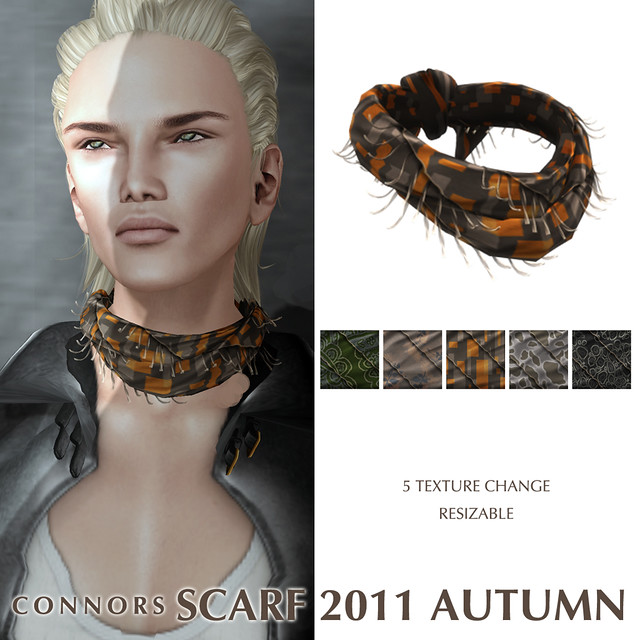 *Connors* SCARF 2011 AUTUMN POP1024