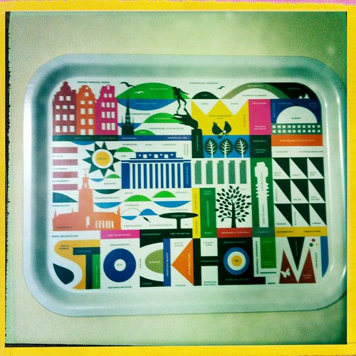 Scandanavian designed trays
