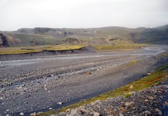 Remains after flood (maya_dragonfly) Tags: travel nature ilovenature iceland europe olympus glacier summer11 goldenmix postglacialvalley