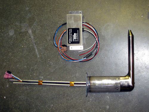 Heated Pitot / AoA Probe and Controller