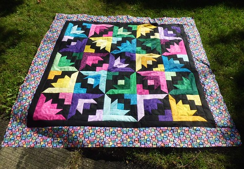 Butterfly Blooms Quilt Top