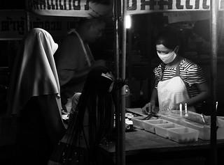 Foodstall at Krabi Night Market