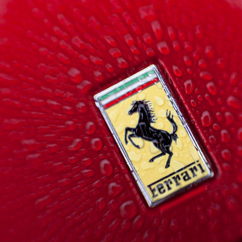 785/1000 - Ferrari Logo by Mark Carline