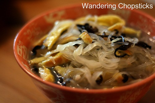 Mien Bap Cai Nam Meo Trung (Vietnamese Bean Thread Vermicelli Noodles with Cabbage, Tree Fungus, and Eggs) 7