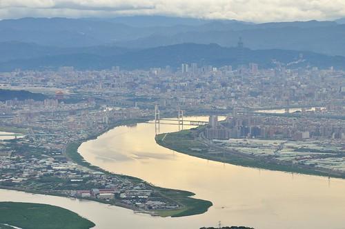 觀音山遠眺台北