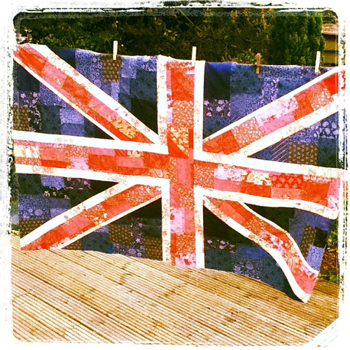 Shabby Chic Union Jack by Lily's Quilt
