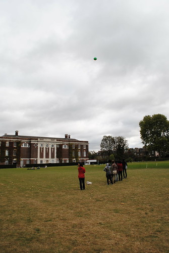 Goldsmiths University of London, Design & Environment First Aerial Mapping Session.