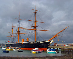 HMS Warrior (albireo2006) Tags: uk greatbritain england wow sailing ship unitedkingdom britain navy hampshire portsmouth mast steamship rigging warship sailingship royalnavy hmswarrior ironclad 5photosaday kartpostal totalphoto threemasted leuropepittoresque