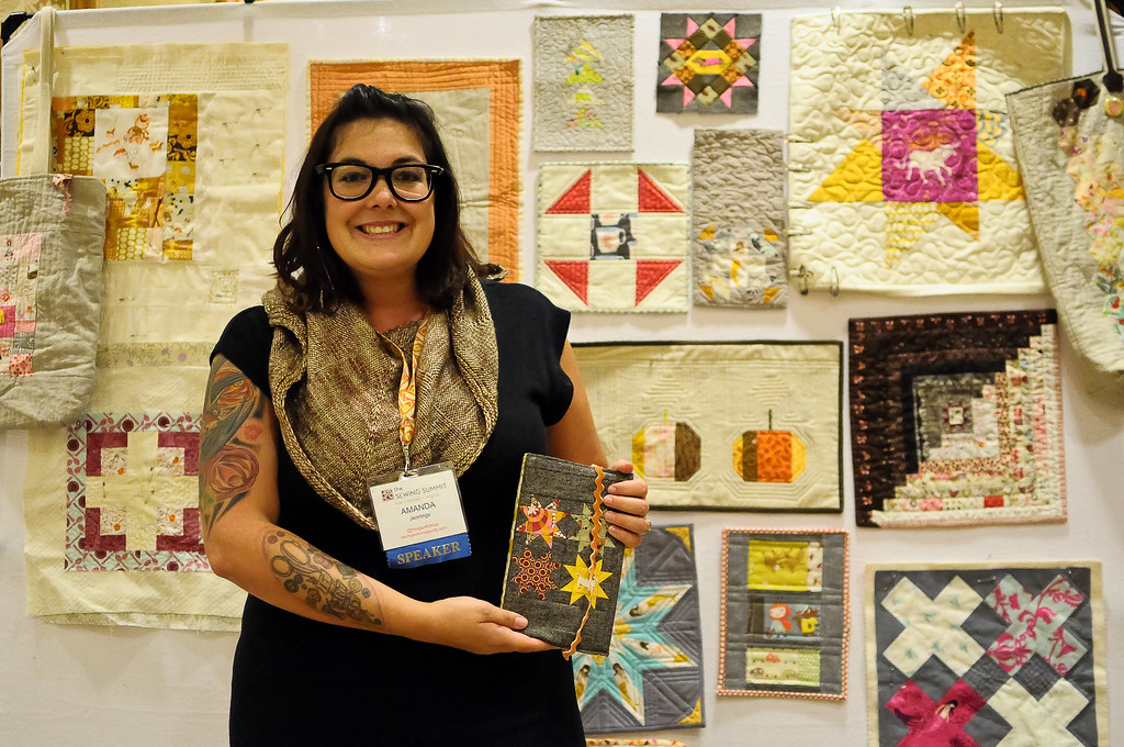 Amanda of Mrsmcporkchop Quilts