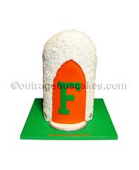 3d drum major hat cake (Outrageous Cakes) Tags: hat cake major drum