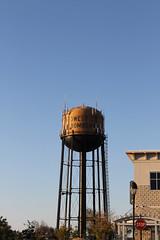 Bomber Tower (mvmonroe87) Tags: watertower midwestcity towncenterplaza bombertower