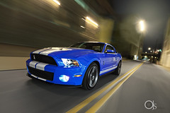 COBRA ATTACK!!!!  -  2010 Shelby GT500 (ojsantiago21) Tags: light ohio river painting photography nikon downtown cobra photographer cincinnati automotive shelby mustang supercharger strobe 2010 gt500 d700 54l brembos ojsantiago
