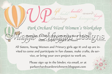 UP Themed Workshop Invitation