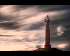 Lighthouse LE (Focusje (tammostrijker.photodeck.com)) Tags: lighthouse holland netherlands clouds movement long exposure dynamic le vuurtoren ijmuiden nd110