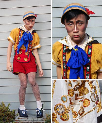 9 Creative Halloween Costume Ideas Using Scarves - Creative Halloween Costume Ideas