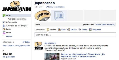 Japoneando Facebook