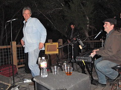 Rob Roy Parnell show in Wimberly, TX by Dan Holmes Group