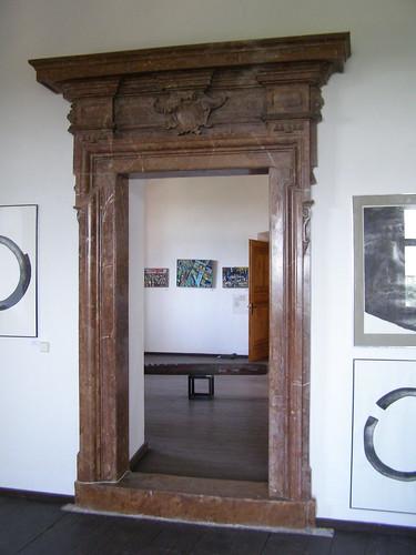 Marmurowy portal