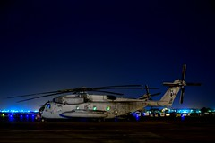 Sitting In The Night (Kav...) Tags: africa usmc digital nikon nikkor dslr hammerhead sikorsky djibouti ch53e hmh366 d3100
