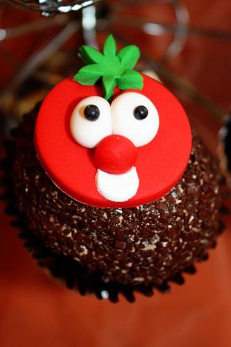 veggie-cupcake