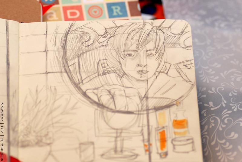 My sketch flash mob, sketch detail