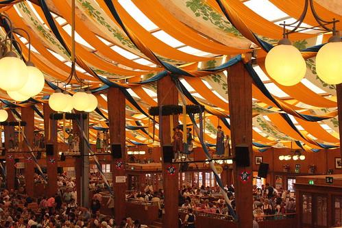 Inside Beer Tent