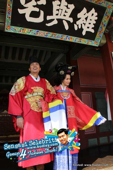 Awal Ashaari & Scha Alyahya di Korea