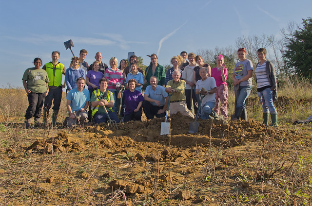 Big pond dig group photo