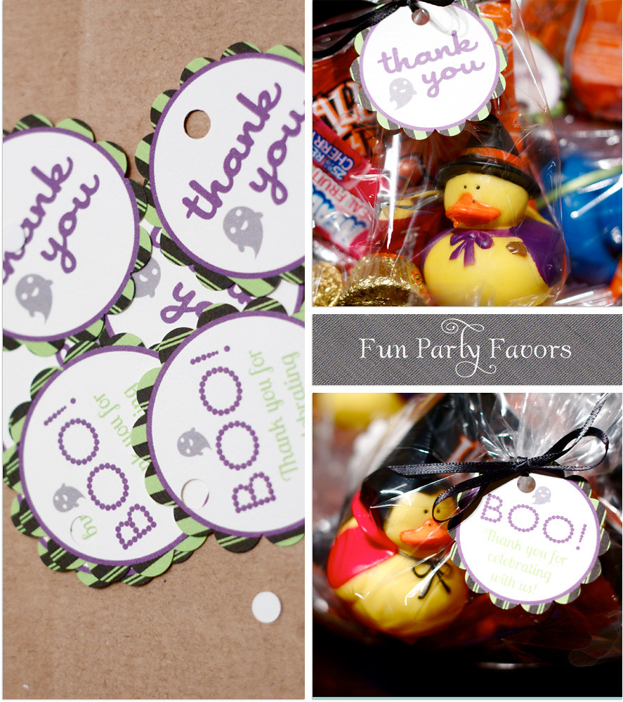 Party Favors and Tags