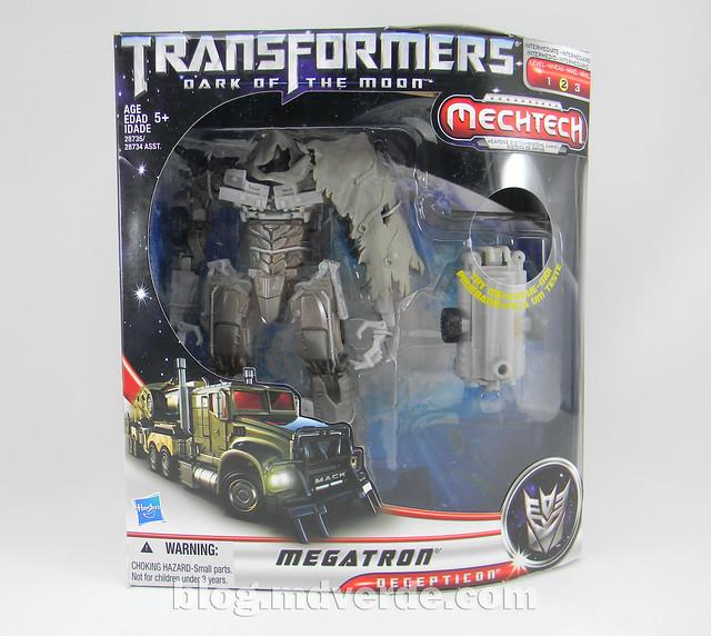 Transformers Megatron DotM Voyager - caja
