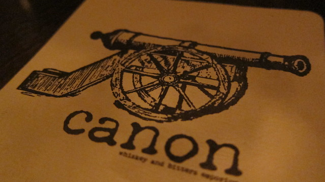 canon seattle menu logo