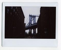 Bridge (kylesteed) Tags: newyork film brooklyn instax fujiinstax brooklynbeta