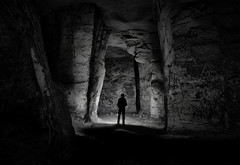 (Farlakes) Tags: underground darkness limestone quarry grot groeve mergel farlakes