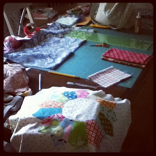 Sick day for the kids. Sewing day for me.